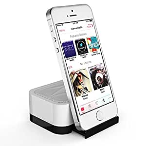 Satechi iFit-1 Portable Rechargeable Speaker Stand for Smartphones: iPhone 6, 5S, 5C, 5, 4S & 4, Samsung Galaxy Note, Galaxy S4, S3, S2, Nokia, Motorola, LG