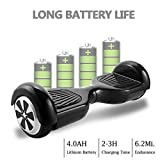 COOCHEER Electric Hoverboard UL2272 Certified Two-Wheel Self Balancing Scooter Smart Hover Boards with LED Lights and 6.5