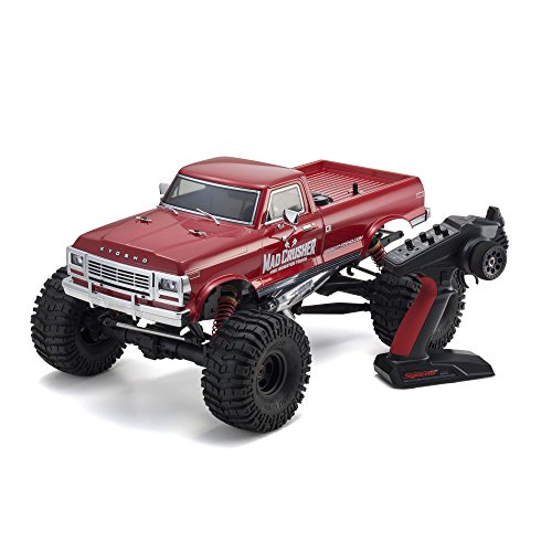 Kyosho 4WD Nitro Powered RC Truck Vehicle