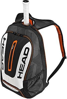 Head Tour Team Backpack Bolsa de Tenis, Unisex Adulto, Negro ...