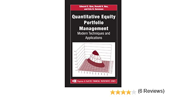 Quantitative Equity Portfolio Management An Active Approach to Portfolio Construction and Management McGrawHill Library of Investment and Finance