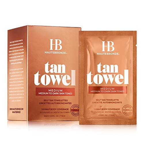 Tan Towel Medium, 2.5 fl. oz. (Tan Body Towels)