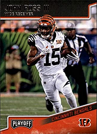 557761f7 Amazon.com: 2018 Panini Playoff #43 John Ross III Cincinnati Bengals ...