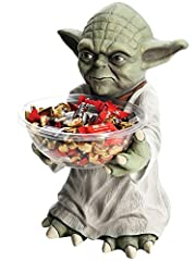 Add personality to your home, office, or party with a fun candy bowl holder complete with removable plastic bowl. Figure stands approximately 18 inches tall with a hollow back designed to stand against a wall. Not just for candy, use the bowl...