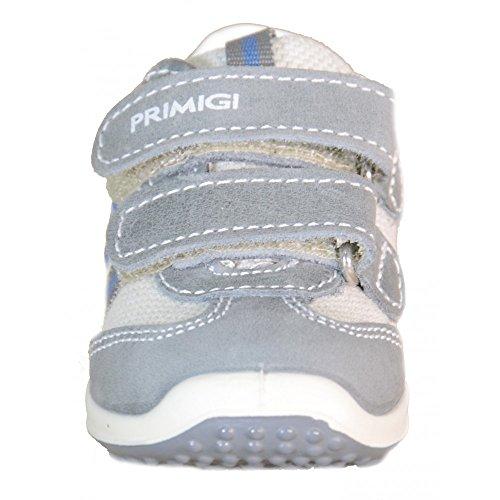 Primigi Kinderschuhe Grau Leder und Textil Mizio 69641 Grau