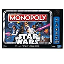 Hasbro Monopoly Game-Star Wars 40th Anniversary Special Edition