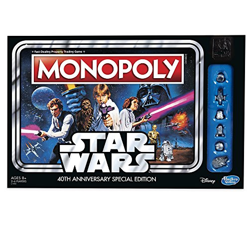 Hasbro Monopoly Game: Star Wars 40th Anniversary Special - Monopoly Game Edition