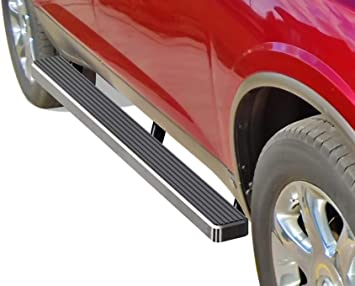 "4/"" Side Step for 2007-2016 GMC Acadia Chevy Traverse Chrome Rail Nerf Bar"