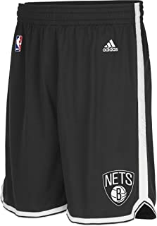 adidas Pantaloncini da Uomo Swingman Intnl NBA Nets, Uomo, Intnl Swingman Shorts NBA Nets, Brooklyn Nets 2, XXS