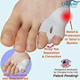 Chiroplax Tailor's Bunion Corrector Pads Bunionette
