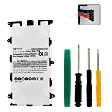 Samsung Galaxy 7 Plus Tablet Battery TLP-018 Li-Pol Battery - Rechargeable Ultra High Capacity (Li-Pol 3.7V 4000 mAh) - Replacement for Samsung SP4960C3/B Battery - Installation Tools Included