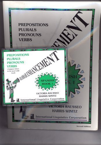 Download Grammar Enhancement Book 1 and 4 Audio Cds, Spanish the Learnables PDF
