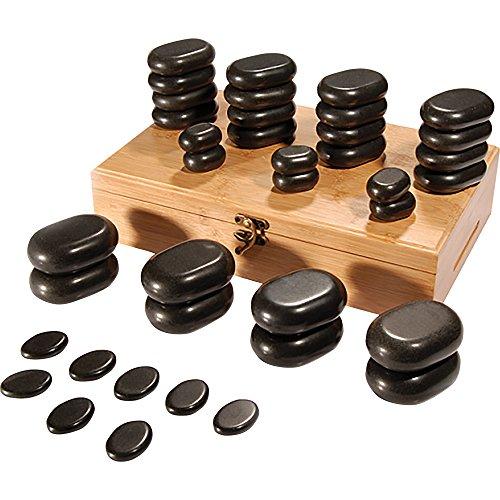 ForPro Basalt Massage Stones, 36 Count