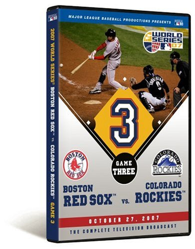 - 2007 World Series Game 3 - Boston Red Sox 10, Colorado Rockies 5