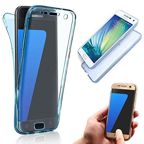 Funda Doble para Samsung Galaxy Core Prime G360, Vandot Bling Brillo Carcasa Protectora 360 Grados Full Body | TPU en Transparente Ultra Slim Case Cover | Protección Completa Delantera y Trasera Cocha QBTPU 02