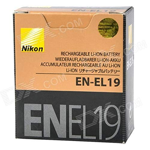 New Genuine OEM Nikon Lithium-ion battery EN-EL19 3.7v 700mAh 2.6wh for CoolPix