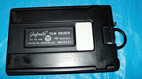 GRAFLEX GRAFMATIC 4X5 FILM HOLDER W/ BOX/MANUAL from GRAFLEX GRAFMATIC FILM HOLDER
