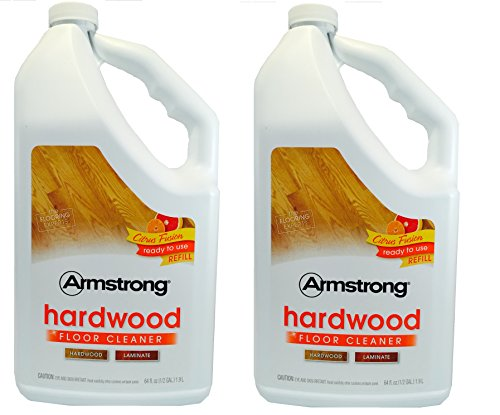 Armstrong 64 oz Hardwood Floor Cleaner Refill 1.9 L Citrus Fusion (Pack of (Armstrong Cleaner)