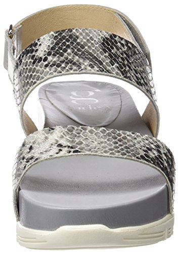 Gadea 40705, Women's Sandals with an Ankle Strap Grey