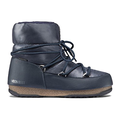 Boot Boot Bleu Blue Low Moon Moon 006 Boot denim W Moon e 8ZzTE8Iwqn