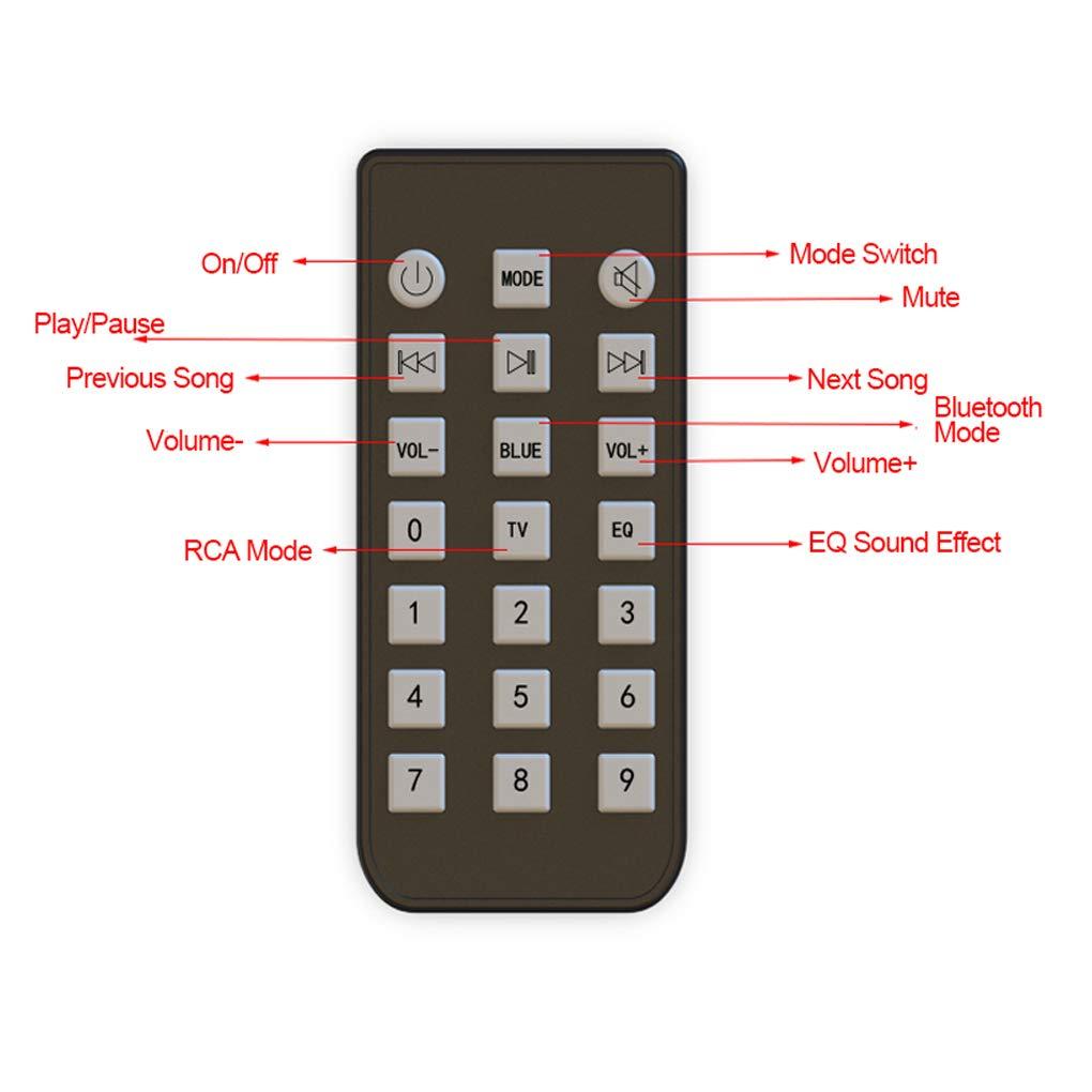 Morza TV Sound Bar PC Gaming 360 360-Grad-Soundbar Grad Bluetooth 5.0-Kanal Soundbar 3D Surround Stereo Heimkino Wireless Audio-Lautsprecher