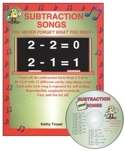 Subtraction Songs Kit with CD