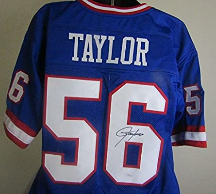 3cba3c63c Lawrence Taylor autographed signed New York Giants jersey Beckett COA