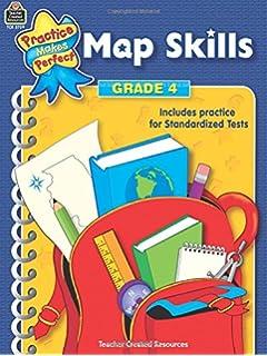 Amazoncom Basic Skills Map Skills Grade Jan - Us map skills grade 5 instructional fair answers