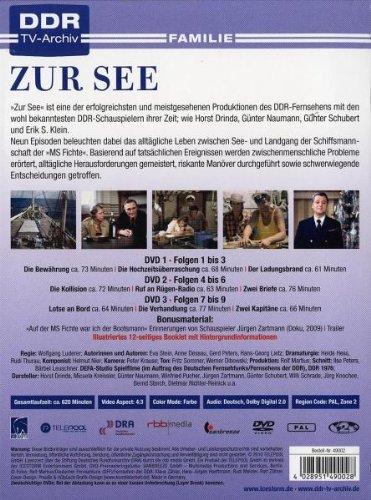 Zur See Die Komplette Serie 3 Dvds Amazonde Horst Drinda