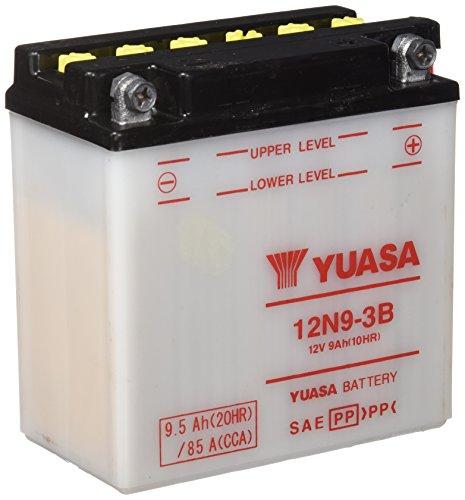 YUASA – Batterie Moto 12V Avec Entretien 12N9-3B