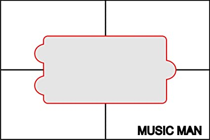 How to make humbucker pickup routing templates. | project electric.