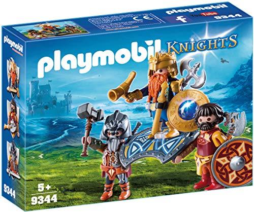 (PLAYMOBIL® Dwarf King with Guards)