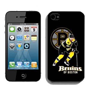 NHL Boston Bruins Iphone 4 or Iphone 4s Case Popular By zeroCase