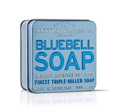 Scottish Fine Soaps Vintage Fragrances Soaps In A Tin Bluebell 3 5Oz By Scottish Fine Soaps
