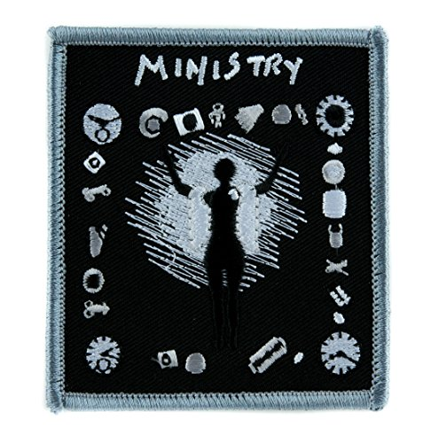 Ministry Psalm 69 Band Patch Iron on Applique Alternative Clothing Industrial Metal Music]()
