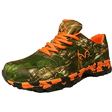 Realtree Outfitters Mens Cobra Realtree Xtra Hiking Shoes,13 D(M) US,Brown Orange