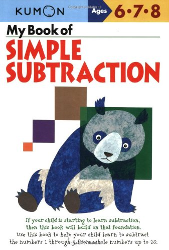 My Book of Simple Subtraction (Kumon Workbooks): Kumon Publishing ...