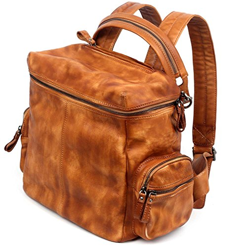 old-trend-leather-backpack-spring-lark-bag-chestnut