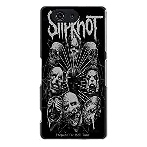 Stylish Horror Skull Mask Heavy Metal Band Slipknot Phone Case Cover for Sony Xperia Z3 Compact / Z3 Mini Pop Rock Personlity