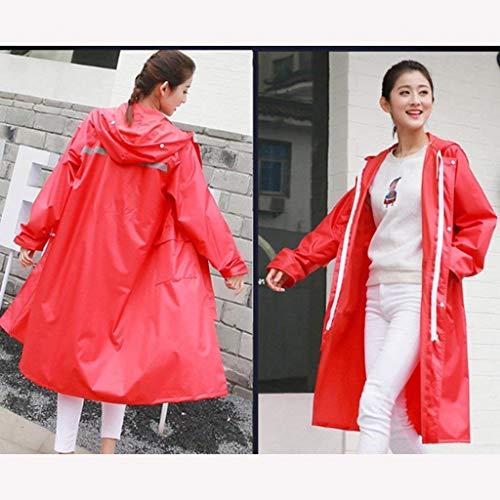 De Abrigo Adulto Coreano Largo Libre Mujer Senderismo Mujeres Clásico El Al Aire C Impermeable Y Chubasquero Estilo FC0tdqBnqw