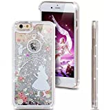 iPhone 8/iPhone 7 Case(4.7inch),Blingys Cool Flowing Liquid Glitter Style Plastic Hard Case for iPhone 8/iPhone 7 (Alice)