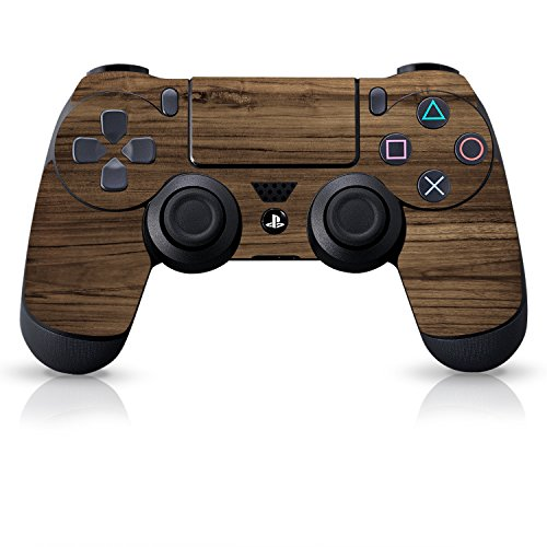 Controller-Gear-Officially-Licensed-Controller-Skin-Wood-Grain-PlayStation-4