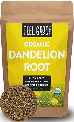 organic dandelion root tea - 8