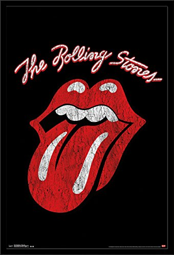 Trends International Wall Poster Rolling Stones Classic Logo, 22.375 x 34 - Classic Logo Poster