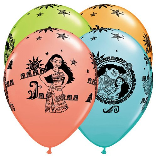 Qualatex 48724 Disney Moana And Maui Birthday Round Special Assortment Latex Balloons 11 Inch Buy Online In China Qualatex Products In China See Prices Reviews And Free Delivery Over 500 Desertcart