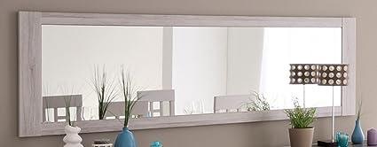 Espejo de pared Marten 25 gris piedra 198 x 62 cm Espejo comedor ...
