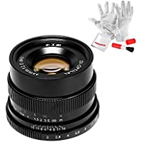 7artisans 35mm F2 Manual Focus Prime Fixed Lens Full Frame Available for Fujifilm Fuji Cameras - Black