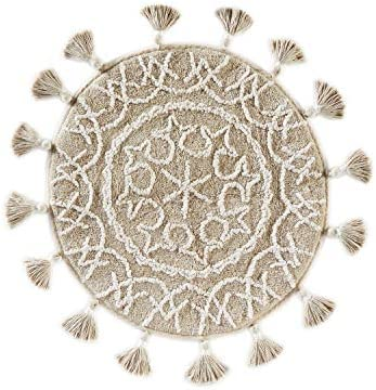 SKL Home by Saturday Knight Ltd. Medallia Rug, Natural, 25 inches x 25 inches