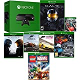 Factory Refurbished Xbox One 500GB Bundle with Halo Master Collection, Halo 5, Forza 5, Forza Horizon 2, Scream Ride, The Crew & Lego Marvel Heroes