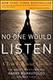 No One Would Listen, Harry Markopolos, 0470919000